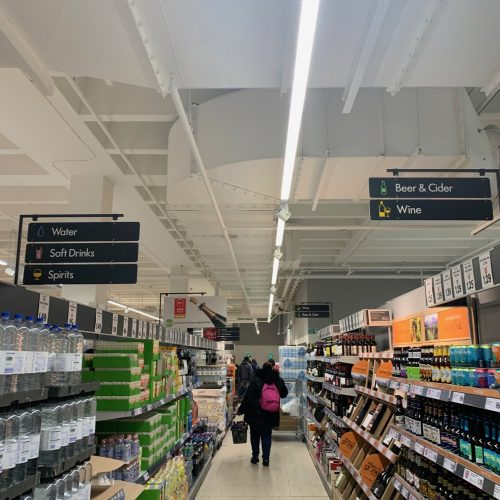 Lidl St Anns Harrow smoke vent in store