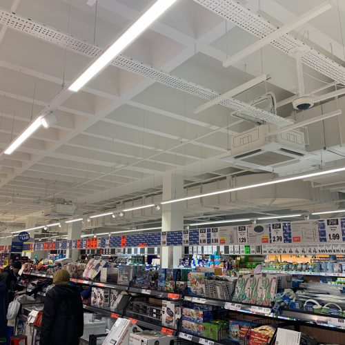 Lidl St Anns Harrow M&E services (above a myriad of bargains!)